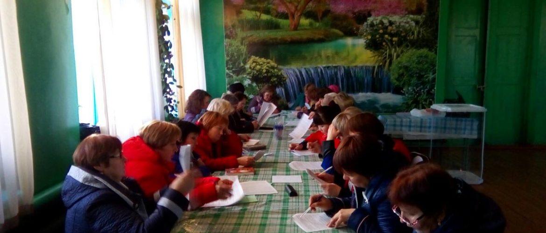 В селе Красная Горка прошло продолжение занятий с членами участковых избирательных комиссий