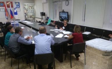 Состоялось обучение территориальной избирательной комиссии Кинель-Черкасского района